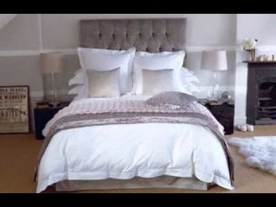 DIY all white bedroom design decorating ideas