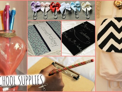 DIY Back to School Supplies! (Personalized, Cute & Easy)