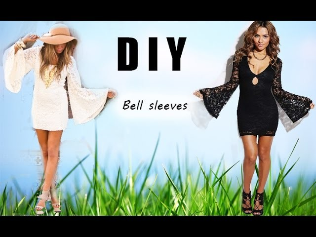 DIY Bell Sleeves (Pattern included)