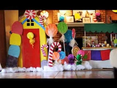 DIY Candyland party decorations ideas