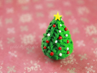 DIY: Christmas Tree Polymer Clay Tutorial