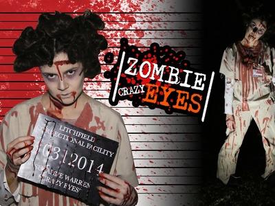 DIY Easy Halloween Costume: Zombie Crazy Eyes OITNB - Costume & Hair!