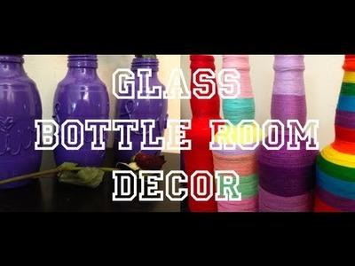 DIY: Glass Bottle ♡ Theeasydiy #RoomDecor