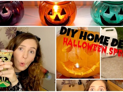 DIY HOME DECOR HALLOWEEN SPECIAL l JasmineStarler