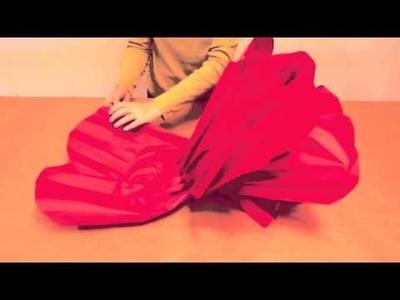DIY Large Paper Flower