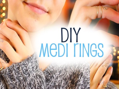 Diy Midi Rings - Easy Jewelry + Gift Idea