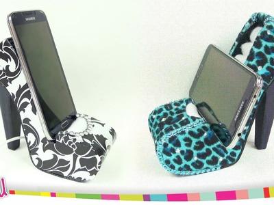 ❥DIY - Mobile Holder High Heel. Zapato Porta-Celular