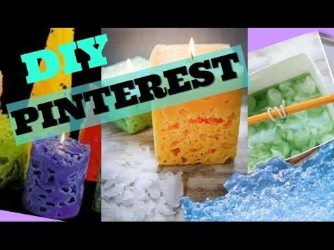 DIY PINTEREST ICE CANDLE - HowToByJordan