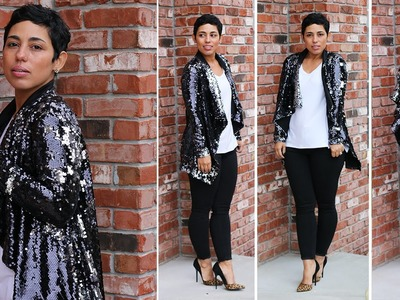 DIY Sequin Cardi Sew-Along