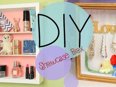DIY Showcase Shadow Jewelry Box {No Nails} How to Make