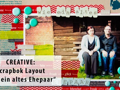 【CREATIVE】 Scrapbook Layout mit Washi-Tape