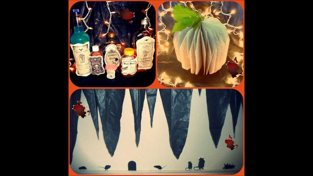 ☠Easy D.I.Y. Halloween Projects (inspired by Pinterest)☠