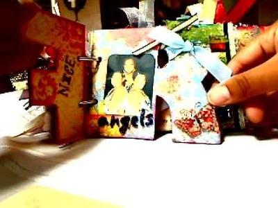 Friends mini scrapbook album by: The Piece by Piece