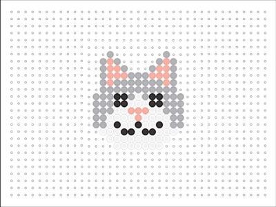 Hama Bead Cat (Animal Series 2 #2)