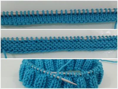 How To Cast On,Knit And Purl For Beginners (In Slow Version) Part 2 of 4