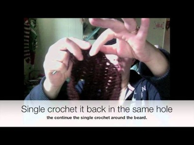 How To Crochet a Beard Part 2