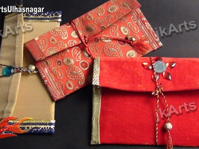 HOW TO: DIY Shagun envelope for gifting in wedding, trousseau and baby shower - JK Arts 440