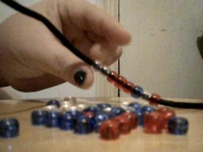 How To Make a Bead Bracelet - (Craft)