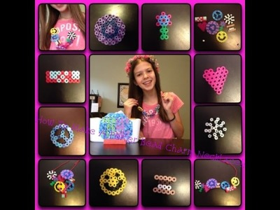 How To Make A DIY Perler Bead Charm Necklace!!