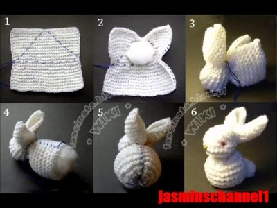 How To Make a Doll With Fabric-Make A Bunny  crochet- Toys