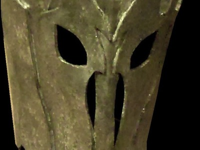 How to Make a Sauron Costume part 2: The Helmet