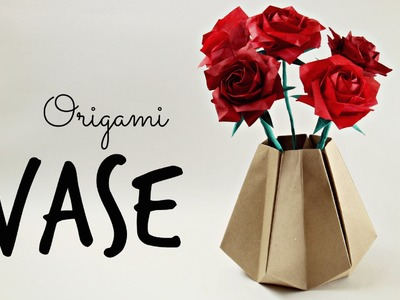 How to make an Origami Vase (Tadashi Mori)