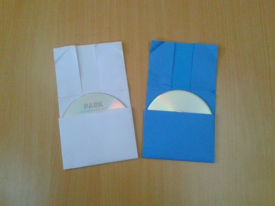 How to Make Instant CD & DVD Case.Cover out of Paper