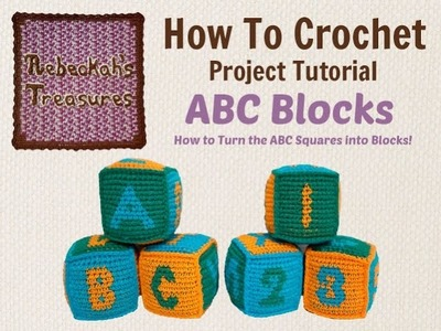 How to Turn Your Crochet Squares into Blocks!