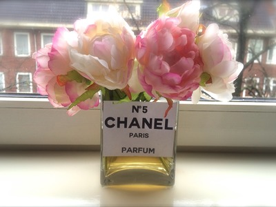 LABELSTYLE DIY - CHANEL VASE DECOR