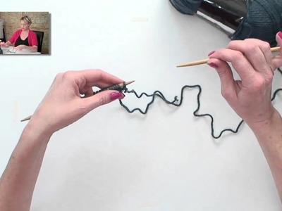 Learn to Knit Your First Scarf Part 5