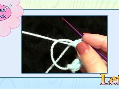 MAGIC CIRCLE - Single Crochet Left Hand Crochet Geek