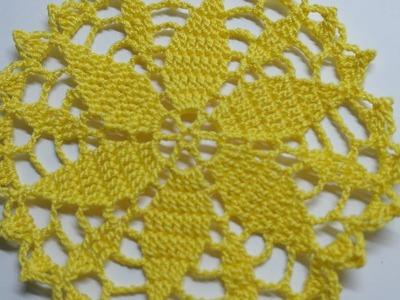 Make a Crocheted Summer Flower Doily - DIY Crafts - Guidecentral