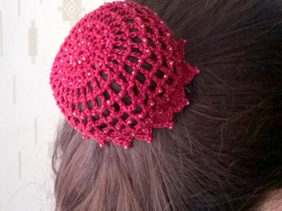 Make a Cute Hair Net with Beads - DIY Style - Guidecentral