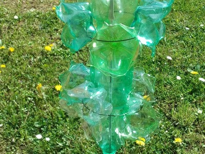 Making Plastic Bottles Garden Decorations - DIY Home - Guidecentral