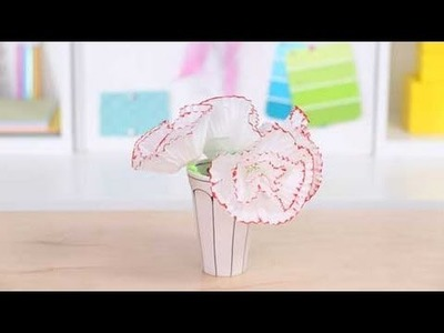 Mother's Day Crafts: Cupcake Carnations