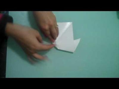 Origami Dog Face