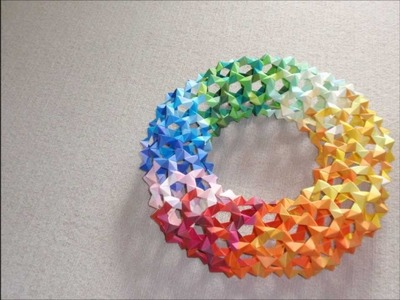 Origami Torus Assembly