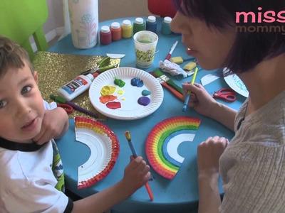Rainbow Kids Craft