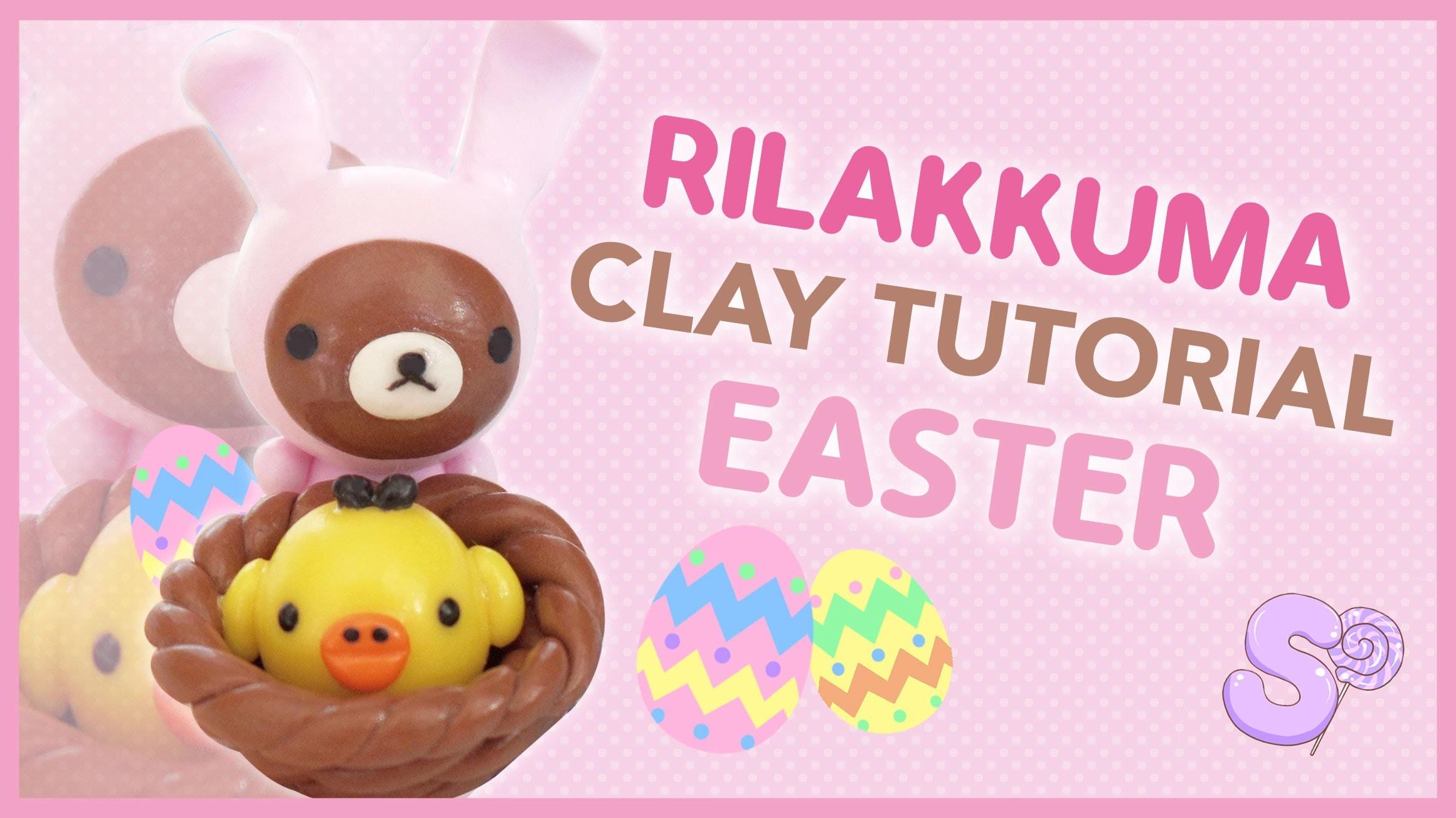 Rilakkuma Easter Basket | Polymer Clay Tutorial