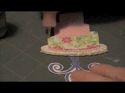 Scrapbooking: Make a Paper Cake Mixed Media Style.m4v