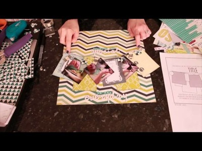Sketch to Scrapbook Page :: Finding the Special in the Everyday
