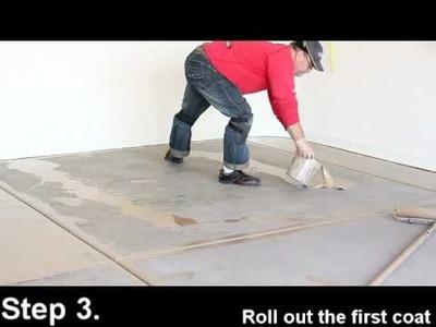 Slide-Lok's SLAC-27 - High gloss sealer - Cheap and Easy garage floor - DIY friendly