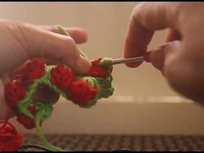 Strawberry Crochet Stitches Part 2 of 2