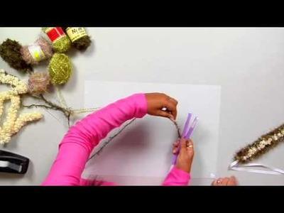 The Joy of Crafting 180.2 -  Two-Straw Yarn Lei