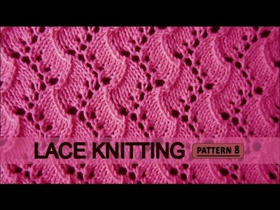 Traveling Vine | Lace Knitting Pattern #8