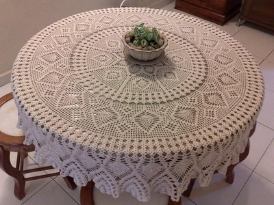 (10) Tableclothes Models Great Lace Designs Crochet Knitting New Trends