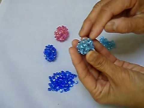 Bead 103 (1 of 2) Swarovski crystal bead weaving