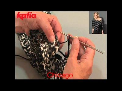 Chicago (Joining using crochet chain.Unión a ganchillo cadenetas)