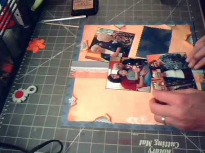 Connected-Scrapbooking 12x12 Layout