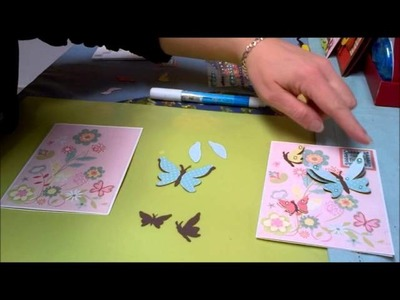 Cricut cards - Crafty Sabby- Paper crafts -Butterfly Card